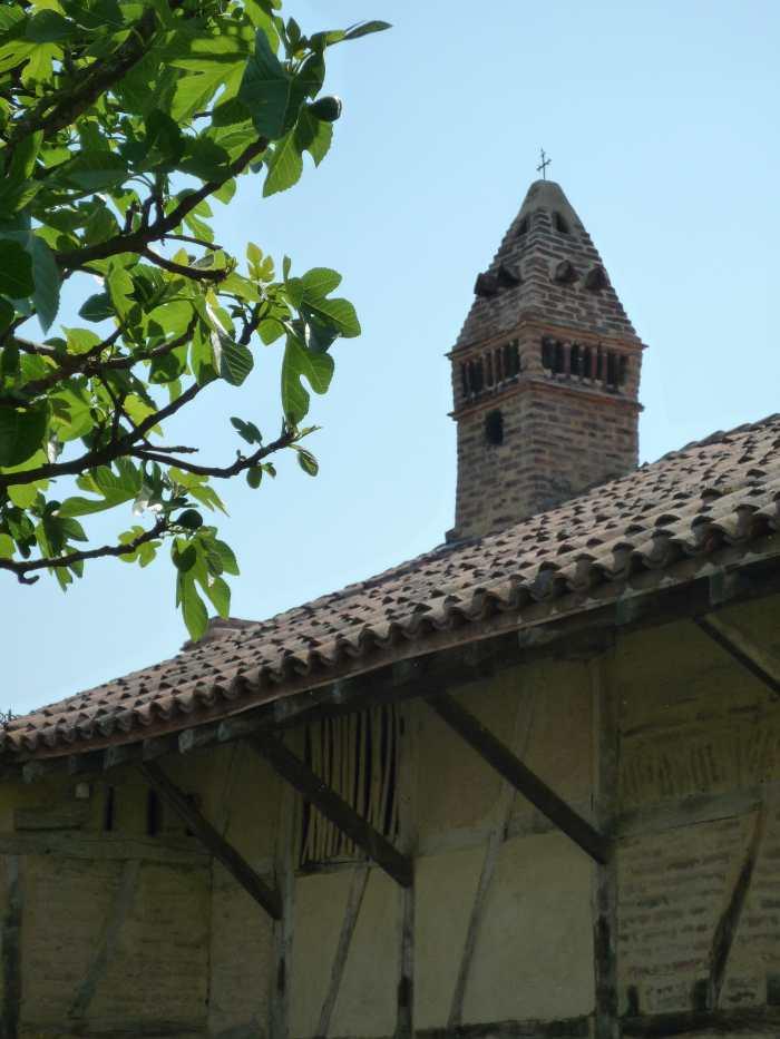 Mitre de la cheminée de la ferme du Champ Bressan