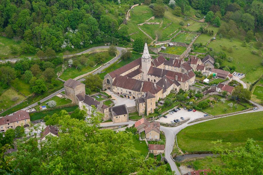 Le village autour de l'abbaye
