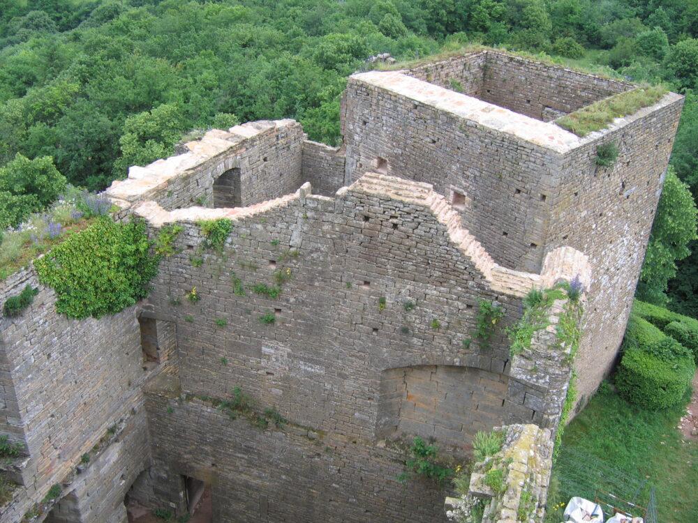 Vestiges de la forteresse