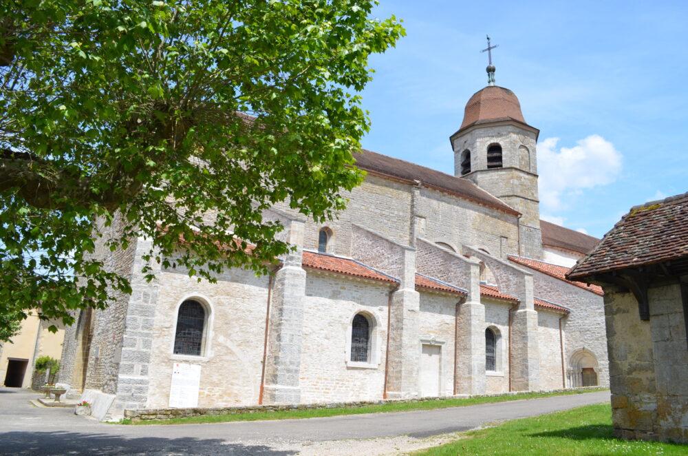L'église de Gigny