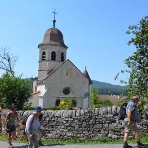 ViaCluny.fr Gigny Chemin de Cluny Bourgogne Franche-Comté nature randonnée découverte en balade