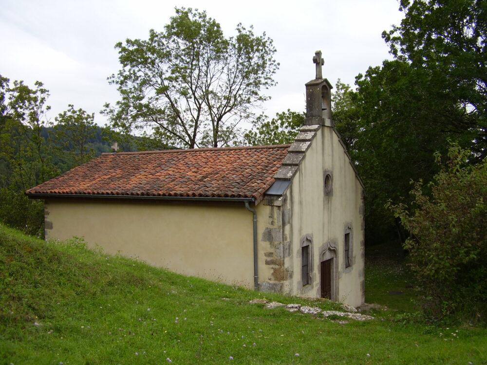 La chapelle dédiée à saint Garadoz