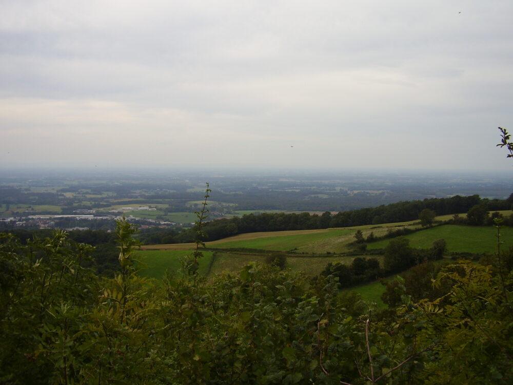 Vue sur la Bresse