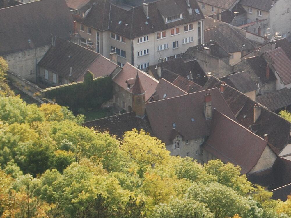 Le monastère des Clarisses