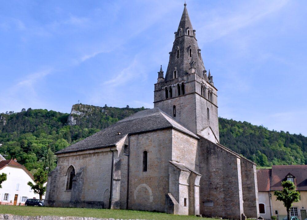 L'église de Mouthier-Vieillard à Poligny