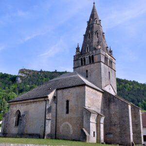 ViaCluny.fr Poligny patrimoine architecture visiter Jura site clunisien