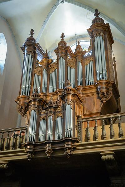 Les orgues de Saint-Hippolyte