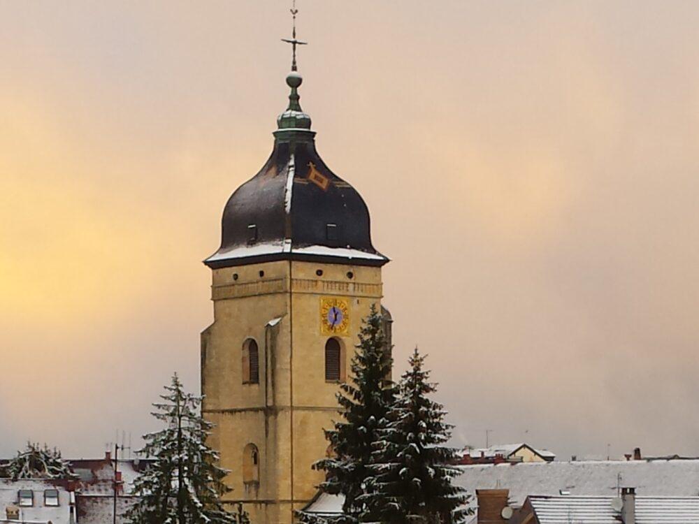 Le clocher de Saint-Bénigne