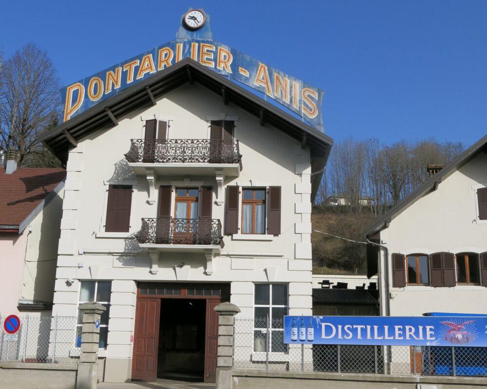La distillerie Guy à Pontarlier