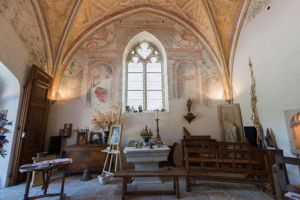Intérieur du prieuré
