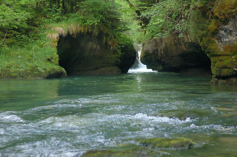 Cascades et torrents se succèdent