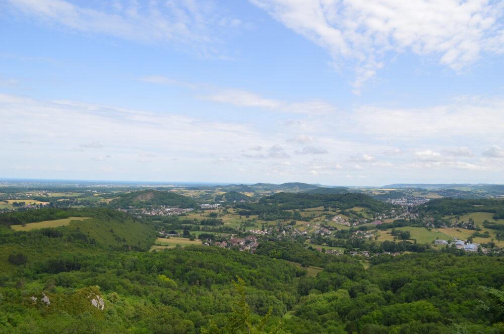 La vallée de la Seille depuis Montorient