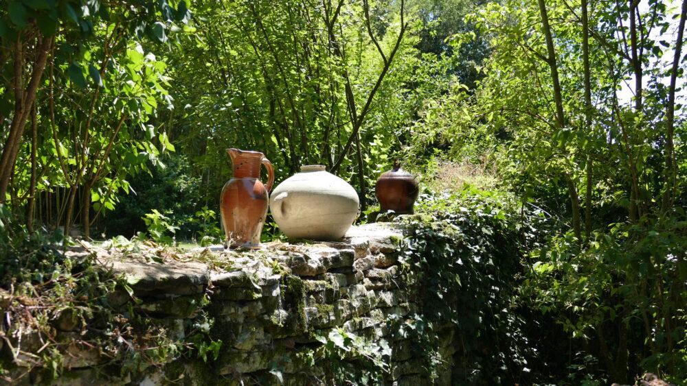 Artisan-potier à Blanot