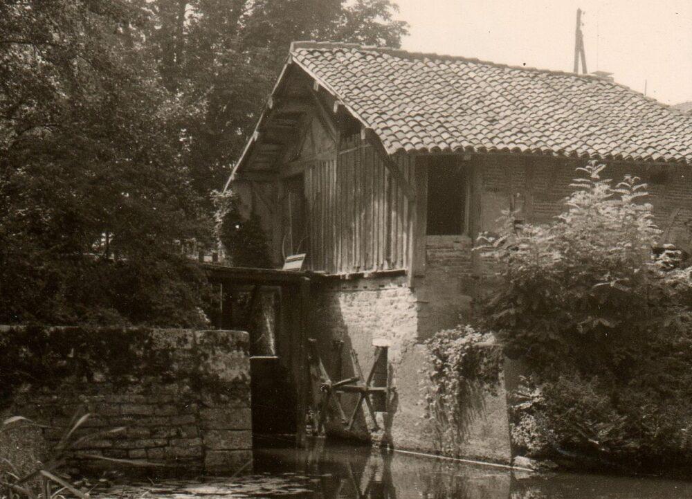 Le moulin Mathy dans les années 1970