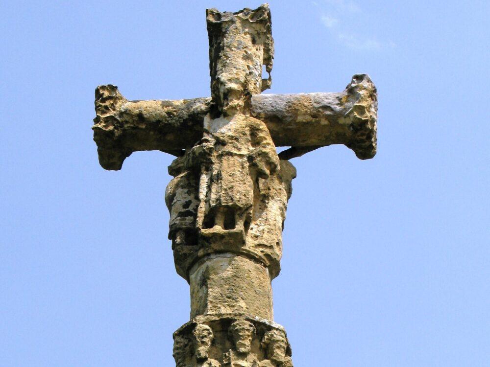 Croix du 15ème siècle à Froidefontaine