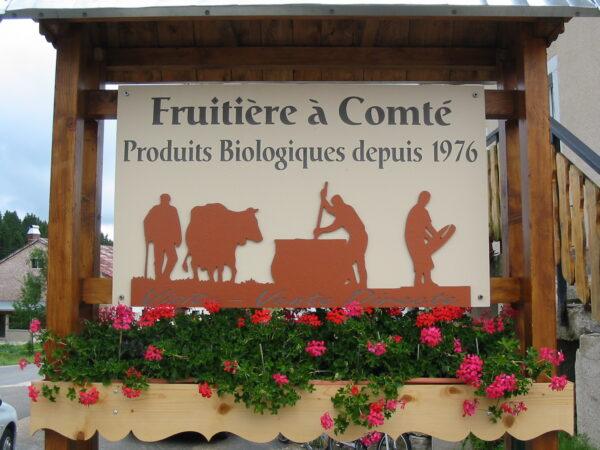 ViaCluny.fr Fruitière Comté fromage Franche-Comté gastronomie bio