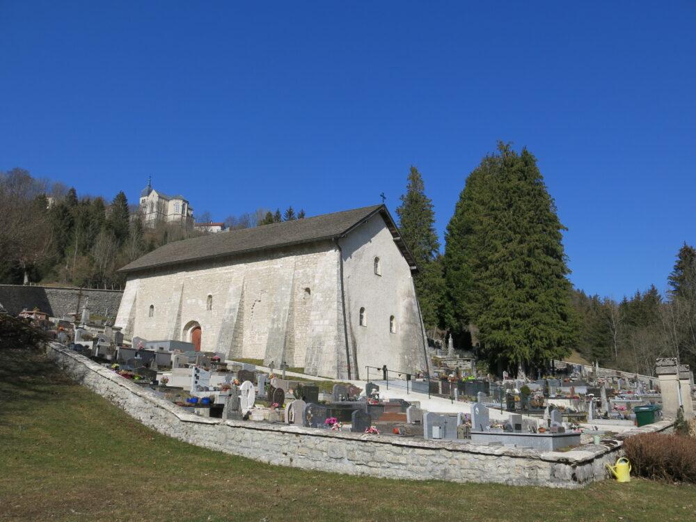 La chapelle Saint-Maurice à Jougne (9ème siècle)