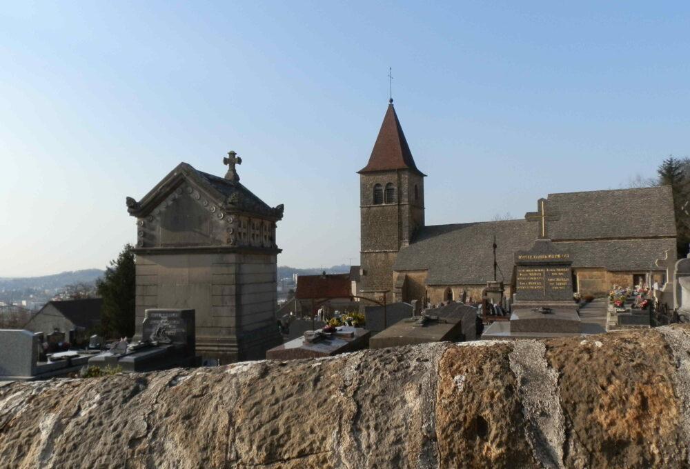 L'ancienne église de Perrigny