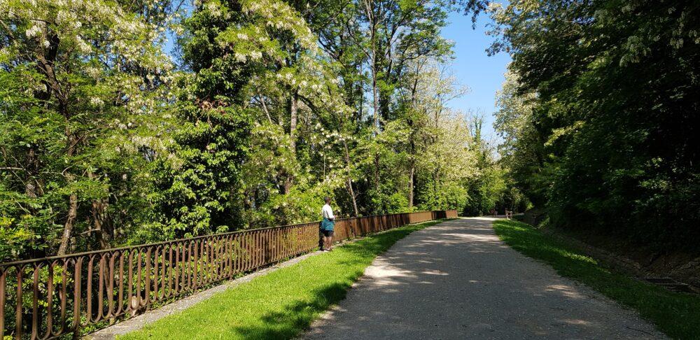 La voie verte à Perrigny