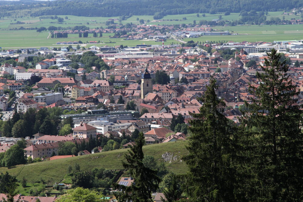 Vue sur Pontarlier