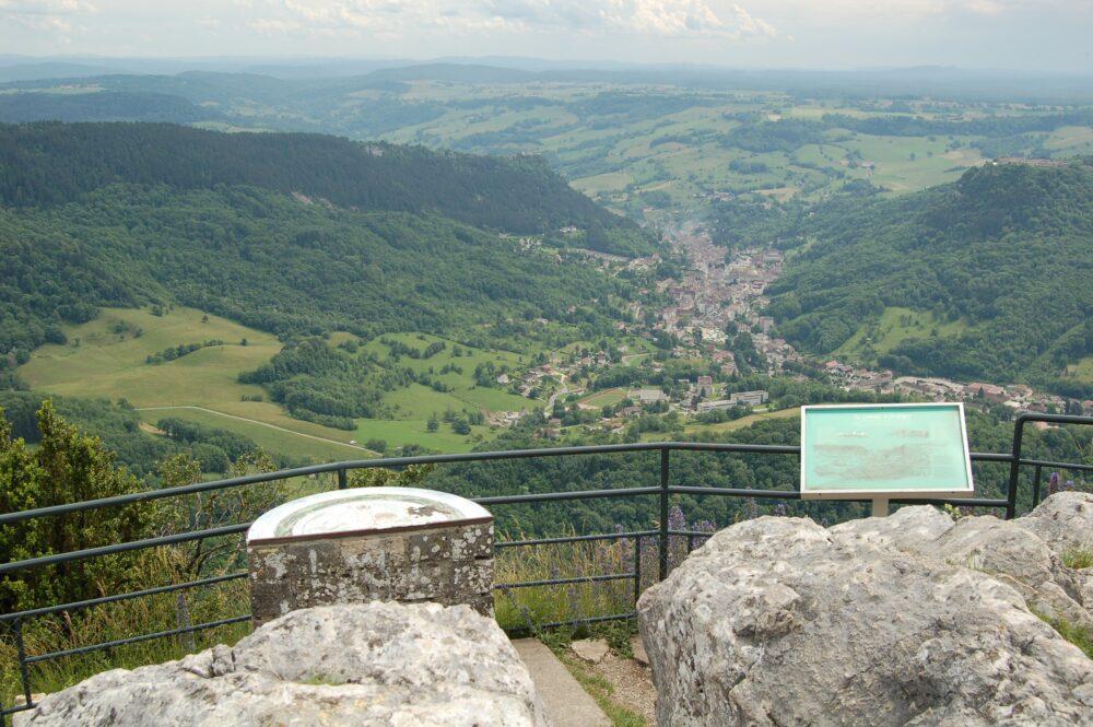 Vue depuis le Mont Poupet