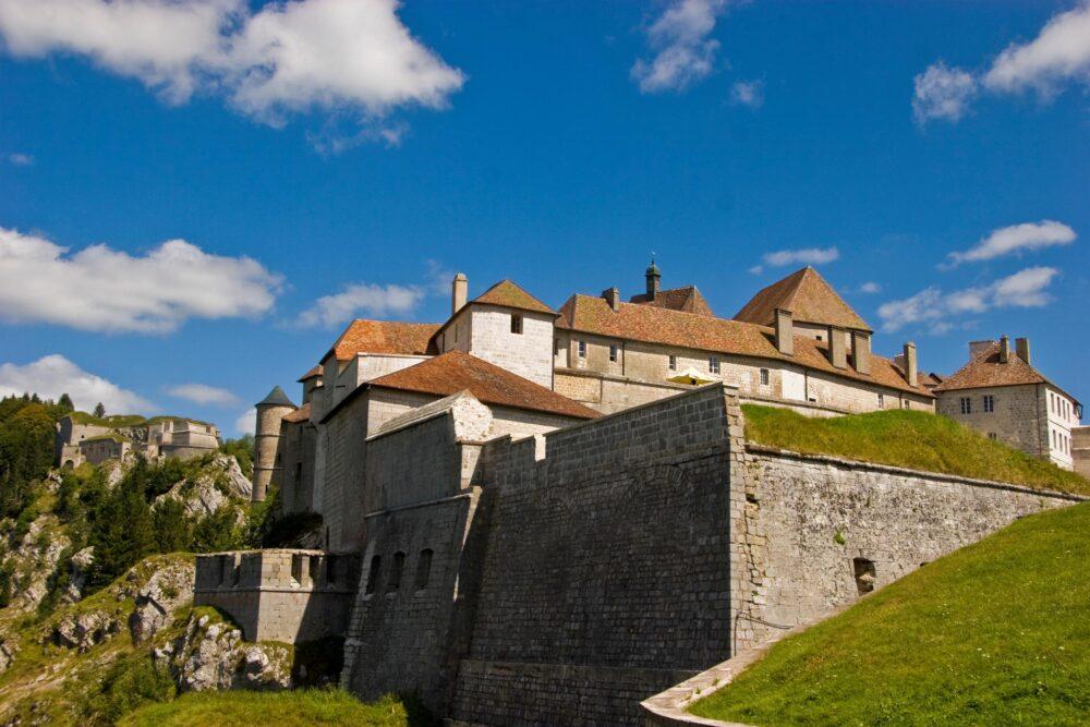 Le fort de Joux où Berthe aurait pleuré son amant