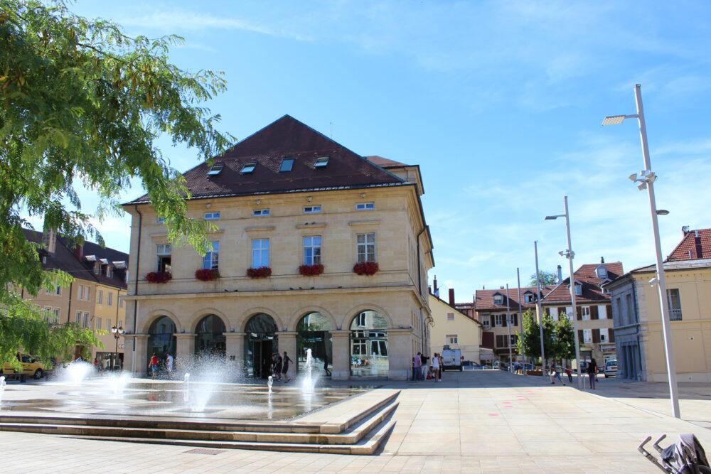 La place Arçon