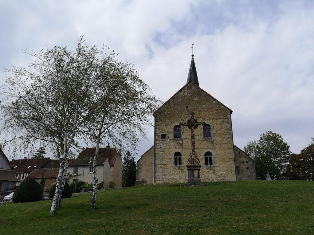 L'église de Beaufort-Orbagna