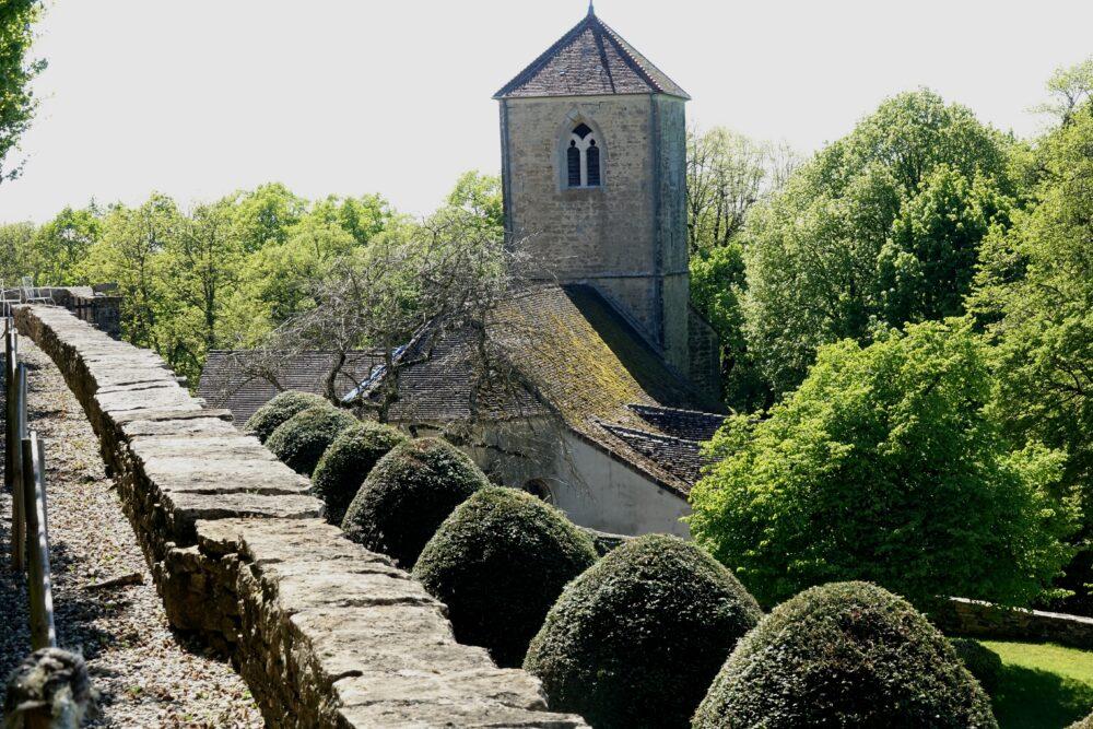 L'église de Frontenay
