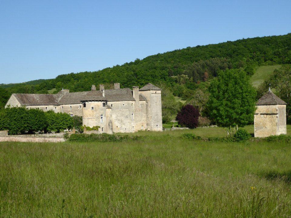 Le château d'Ozenay