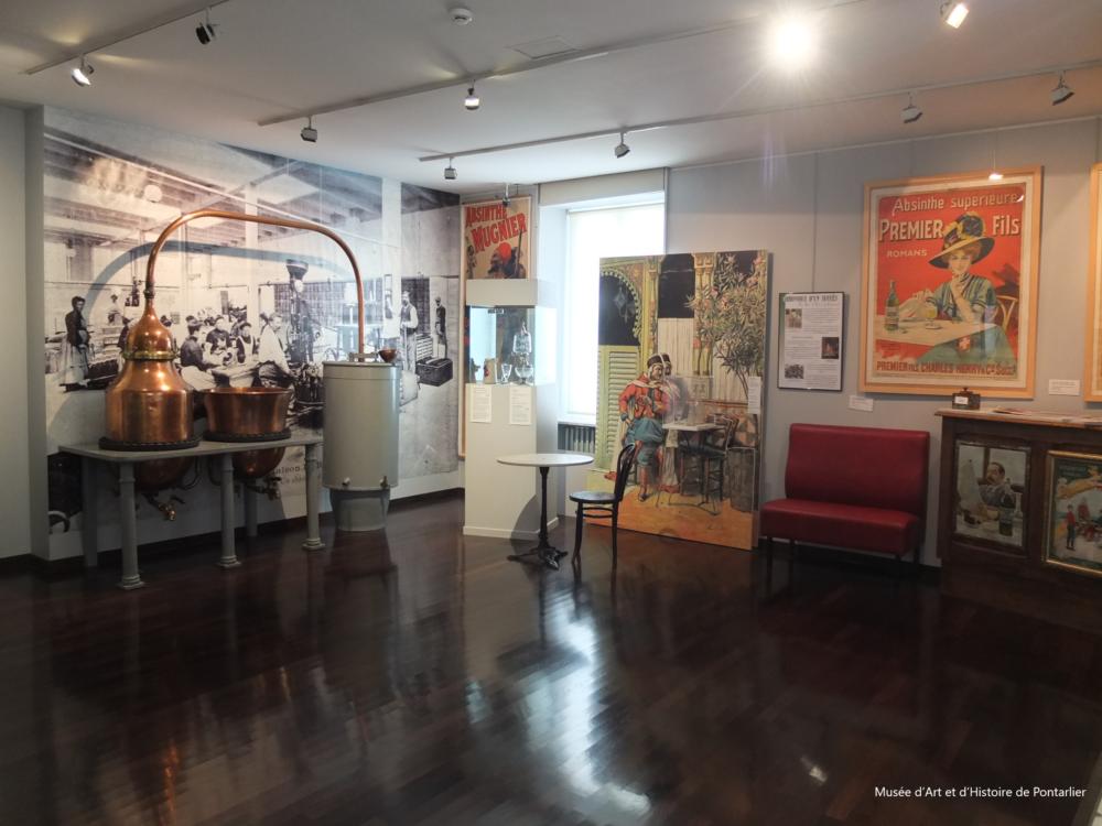 La production de l'absinthe au Musée d'Art et d'Histoire de Pontarlier