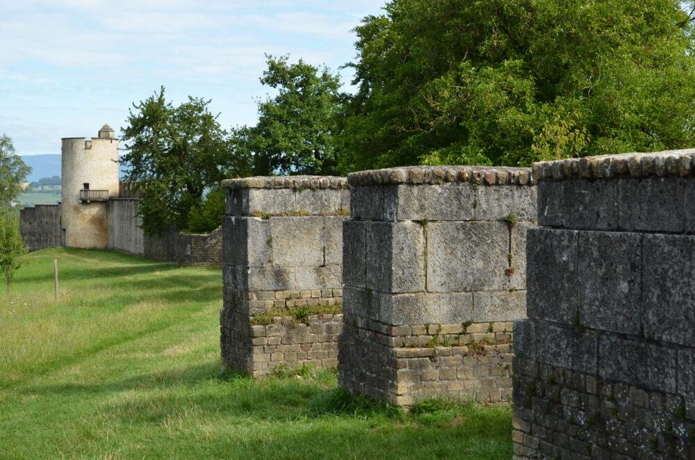 L'enceinte antique d'Avenches