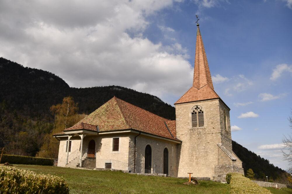 L'église de Baulmes