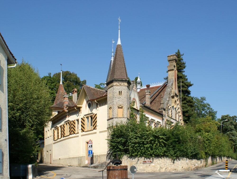 Le château de Cormondrèche