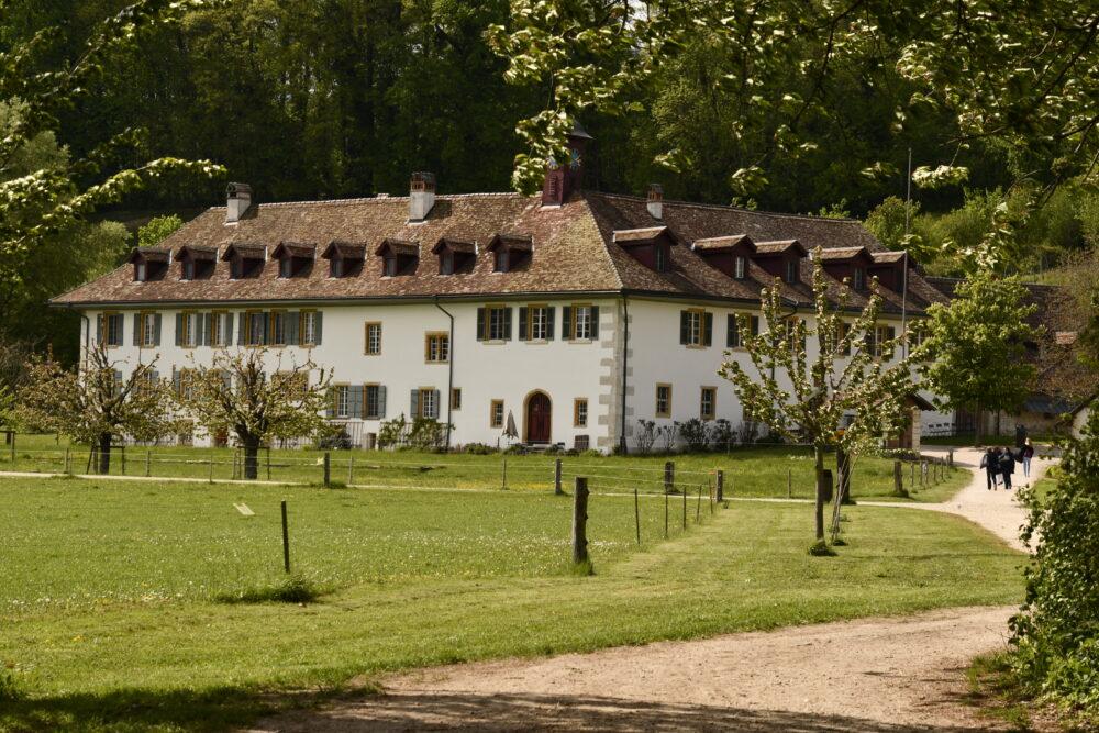 L'ancien prieuré de l'île Saint-Pierre