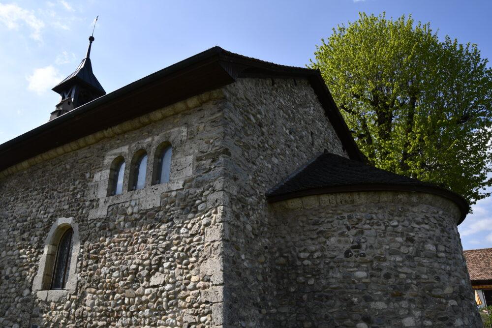 Le temple, ancien prieuré