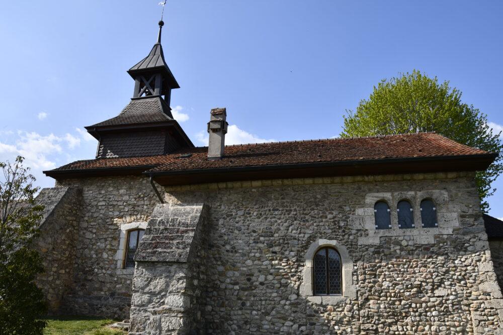 L'ancien prieuré de Montcherand
