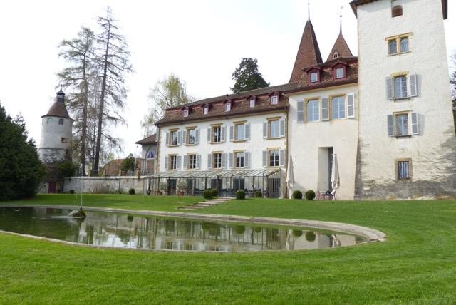 L'ancien prieuré de Villars-les-Moines