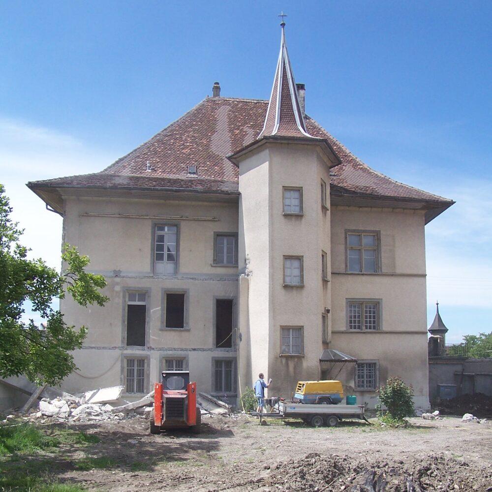 Le château de Domdidier