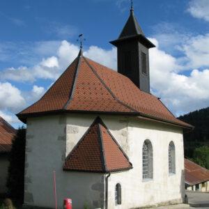 ViaCluny.fr chapelle Saint-Antide Pontarlier patrimoine