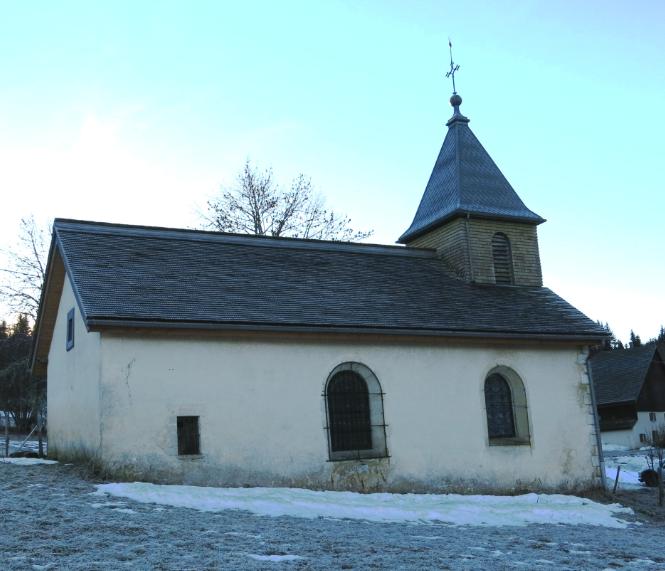 La chapelle de Mijoux