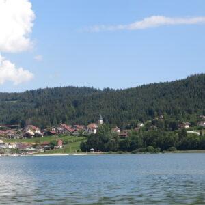 ViaCluny.fr Malbuisson lac hôtel tourisme